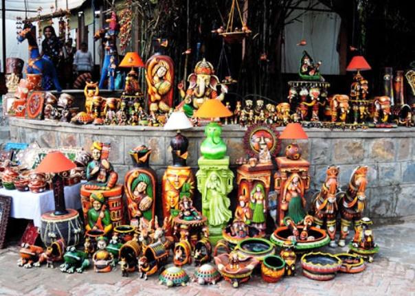 Shop at Delhi Haat Market