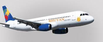Bhutan Airlines ( Airbus- 320 with seating capacity of 150 seats)