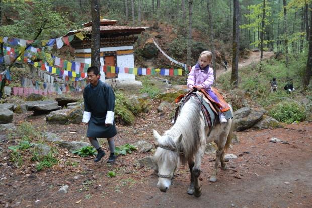 Taktsang Trail, uphill