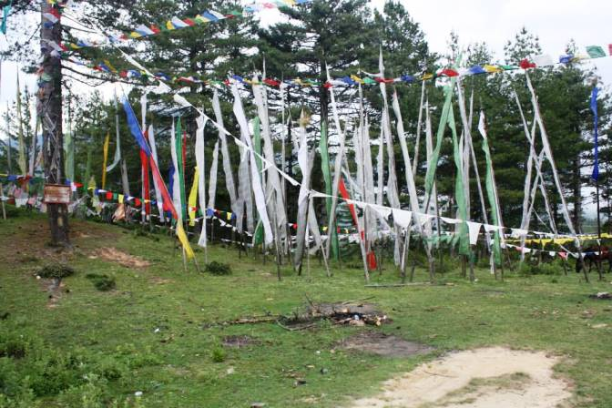 Prayer Flag at High Passes